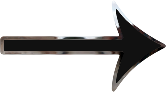 black arrow - PNG