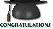 congratulations for graduating