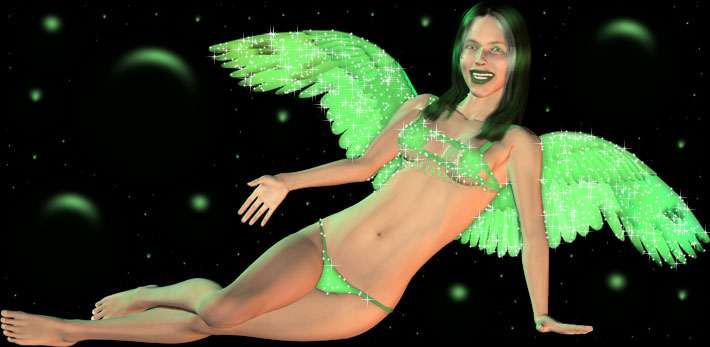 green angel hot