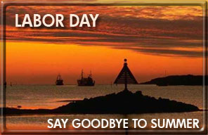 goodbye to summer - labor day