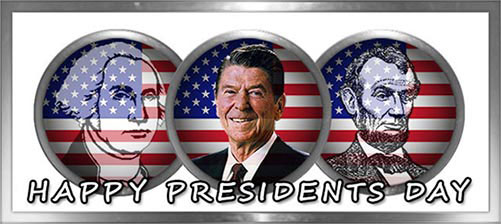 Washington, Lincoln, Reagan