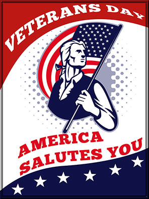 America Salutes You - Veterans Day