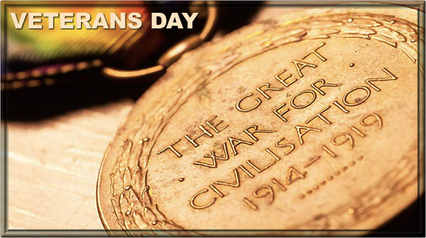 Veterans Day The Great War